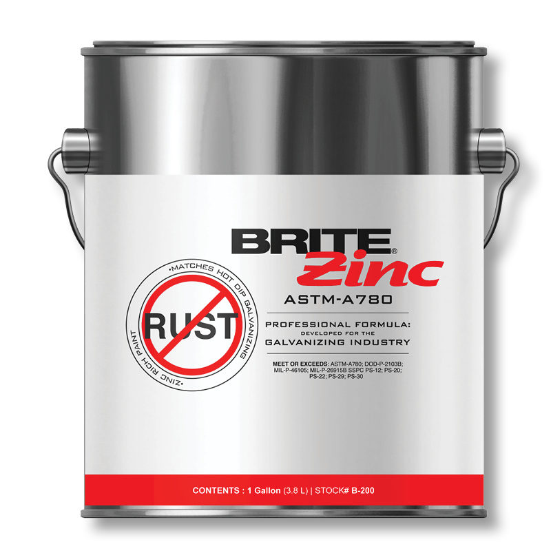 BRITE ZINC | PROTECTION FROM CORROSION | Weld-Aid